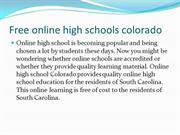 online high school diploma  colorado