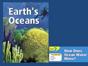 How does oceans water move