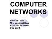 COMPUTER NETWORKS1