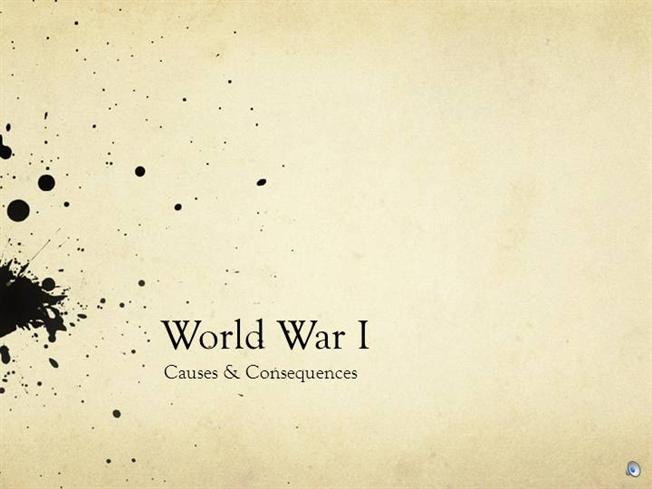 wwi background part 1 |authorstream, Powerpoint templates
