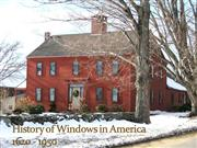 History of Windows in America