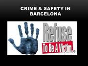 Crime & Safety in Barcelona