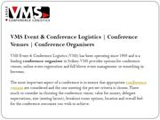 Conference Venues | Conference Organisers
