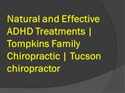 Natural and Effective ADHD Treatments  Tompkins Family Chiropractic  T