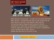 Tibet Travel Packages Powerpoint
