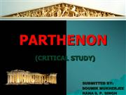 PARTHENON architectural study