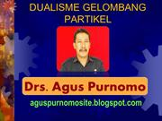 DUALISME GELOMBANG PARTIKEL