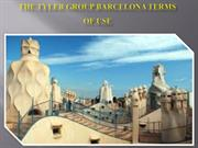 The Tyler Group Barcelona Terms Of Use