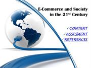 e-commerce and the society in the 21st century