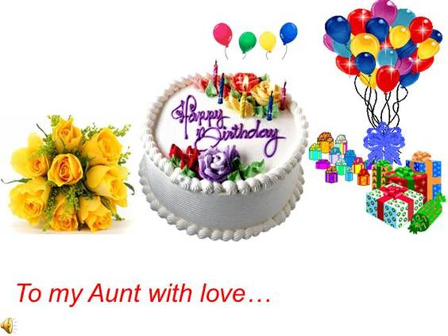 Happy Birthday To My Favorite Aunt Authorstream