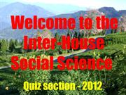 social science quiz 2012