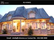 Toronto New Home - Rs Homes - Toronto Home Builder & Home Renovations