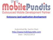 Outsource ipad application development