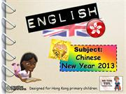 Tom's TEFL - Chinese New Year 2013 (Year of the Snake)