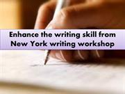 Writing Workshop Nyc