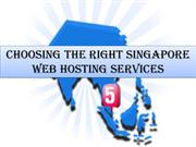 Singapore Web Hosting Services