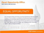 2013 Equal Opportunity