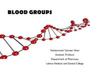 4. Blood Groups
