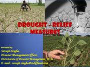 Drought – Relief Measures