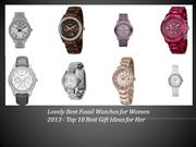 Best Fossil Watches for Women - Ideal Gift Best Watches for Women
