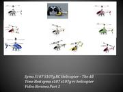 Top 10 Best Syma RC Helicopters - Syma S107G Best RC Helicopters 2013