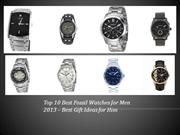 Best Mens Fossil Watches - Best Gift Ideas Fossil Watches for Men 2013