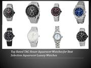 Top 10 TAG Heuer Aquaracer Watches - Best TAG Heuer Watches