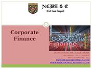 Corporate Finance; Ratio Analysis (5)