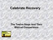 The Twelve Steps And Their Biblical Comparisons