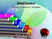 ALPHABET BLOCKS SCHOOL POWERPOINT THEME