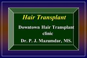 Hair Transplant short presentation for video ppt