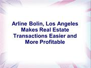 Arline Bolin, Los Angeles Makes Real Estate Transactions Easier and Mo