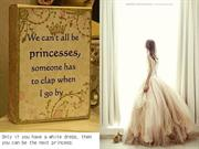 white prom dresses for being princess