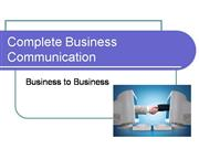 Complete Business Communication
