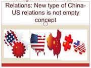 The Crown Capital Management International Relations  New type of Chin