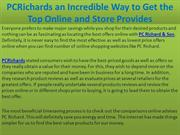PCRichards an Incredible Way to Get the Top Online and Store Provides