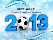 2013 FOOTBALL CHAMPIONSHIP GAME POWERPOINT THEME
