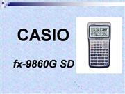 Using Casio FX9860G Graphic Calculator f