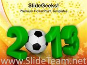 2013 NEW YEAR SPORTS GAME POWERPOINT THEME