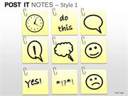 DAILY PLAN POST IT NOTES