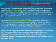 Liberty Reverse Mortgage - Get Informed About Reverse Mortgage Loan Ok