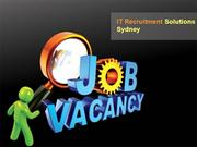 IT Recruitment Solutions Sydney - Nspire Recruitment