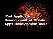 iPad App Development India