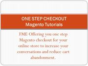 One Step Checkout  - Magento Extension - One Page Checkout