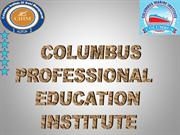 Columbus institute hotel management ppt