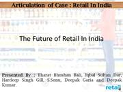 The Future of Retail In India