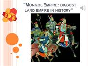 Mongol Empire Lecture