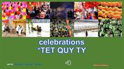 Lunar New Year celebrations - TET QUY TY