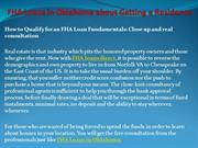 FHA Loans in Oklahoma about Getting a Residence