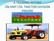 hmt pinjore tractor division